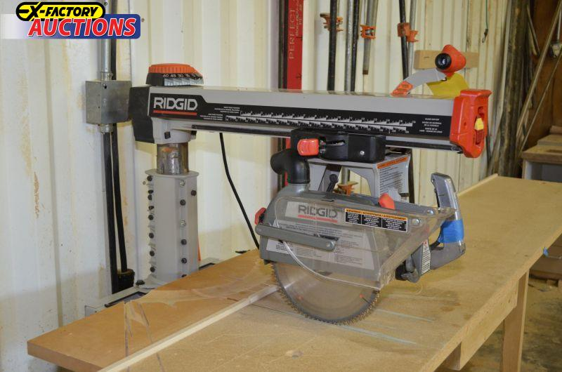 Ridgid Radial Arm Saw Car Interior Design